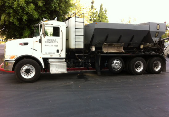 South OC Mix Concrete Load Truck