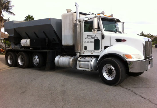 Short Load Concrete Truck Service