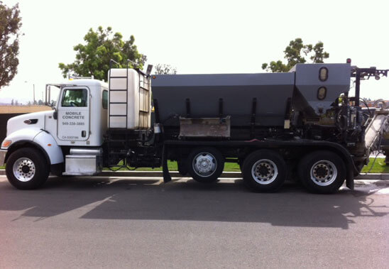 Volumetric Concrete Mixing Trucks