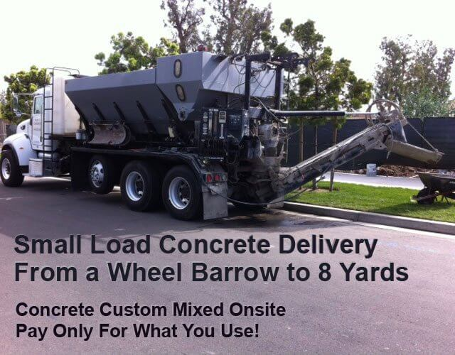 Concrete Delivery Orange County, CA | Short Load Ready Mix
