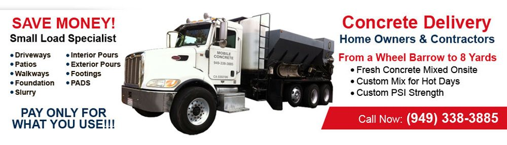 Residential & Commercial Mobile Concrete Providers