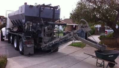 Concrete Delivery Orange County, CA | Short Load 8 Yards or Less